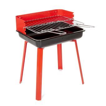 Portago barbecue charbon rouge 33 x 26 cm landmann 11526