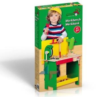 etabli en bois pour enfant activite manuelle jeu jouet de. Black Bedroom Furniture Sets. Home Design Ideas