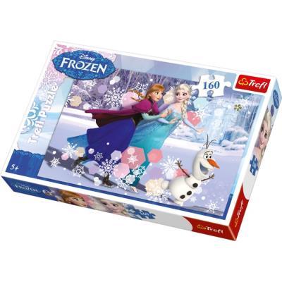 Puzzle la Reine des neiges Valentine 160 pièces