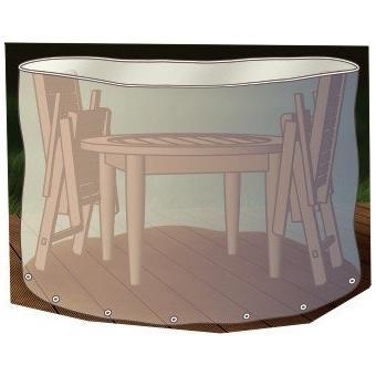 Beo 980357 Housse De Protection Pour Table Ronde Et Chaises De Jardin 200 Cm