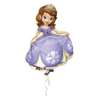 1 Ballon Mylar 66 x 88 cm-Princesse Sofia™-