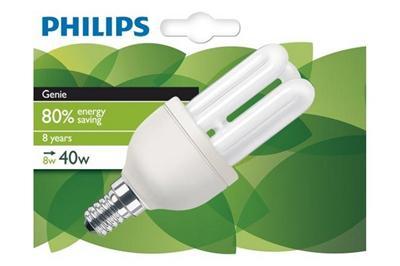 Ampoule PHILIPS Eco85 Genie 8W E14 827 1