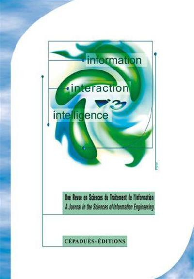 INFORMATION. INTERACTION. INTELLIGENCE