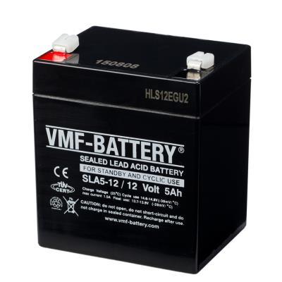 VMF Batterie AGM de veille et cyclique 12 V 5 Ah SLA5-12