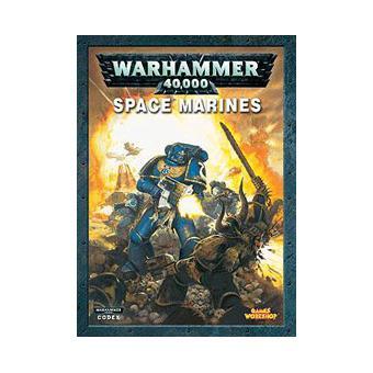 Games Workshop Livre Codex Space Marines Warhammer 40 000