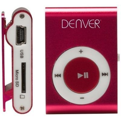 Denver mps 110nf mp3 player mit clip pink