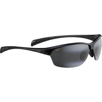 057777154b008 Maui jim hot sands noir brillant gris neutre polar+ - large-extra large -  Lunettes - Achat   prix
