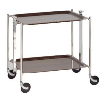 TEXTABLE ROULANTE LA WENGÉ 500250MBWG TABLE PLATEX derxCoWB