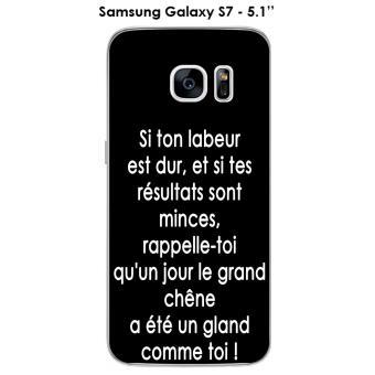 coque galaxy s7 citation