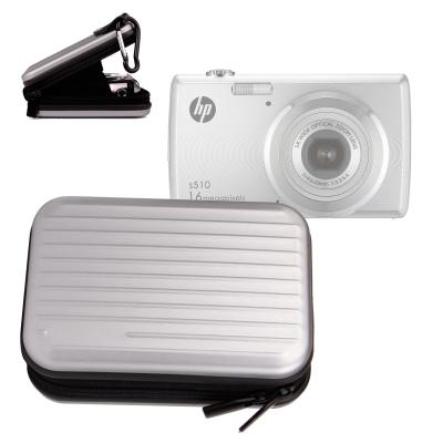 Etui rigide de transport en aluminium léger pour appareil photo HP S510 et S520