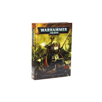 Games Workshop Livre De Regles De Warhammer 40 000