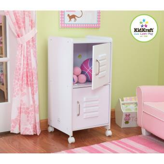 kidkraft armoire pour chambre enfant taille moyenne blanche autres jouets en bois achat. Black Bedroom Furniture Sets. Home Design Ideas