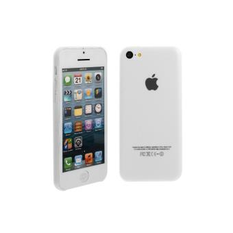 Coque en Silicone Souple Pour Apple Iphone 5c Blanc