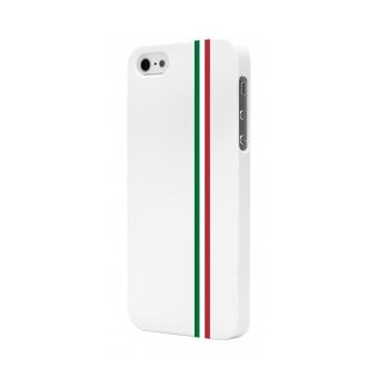 Coque Iphone 6S blanche bandes Italie
