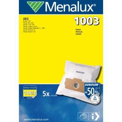 MENALUX - 1003 DURAFLOW - 5 SACS D'ASPIRATEUR