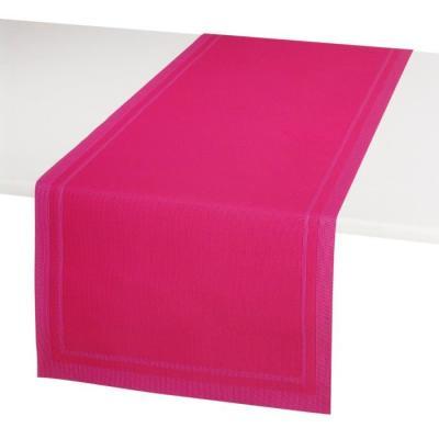 Chemin de Table en PVC YUCO FUSHIA 46x140cm