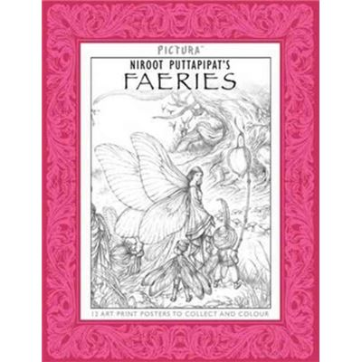 Pictura Faeries Colouring Book
