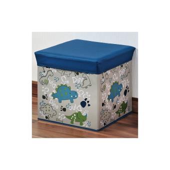 pouf coffre de rangement bleu d coration chambre enfant poufs enfants achat prix fnac. Black Bedroom Furniture Sets. Home Design Ideas