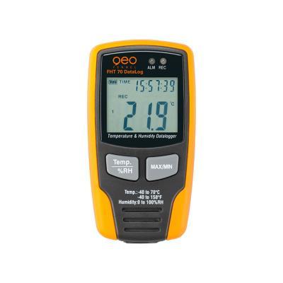 Enregistreur de données de température et d'humidité fht 70 datalog geo fennel 800120