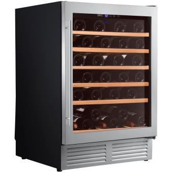 cave vin de service 1 temp 51 bouteilles noir. Black Bedroom Furniture Sets. Home Design Ideas
