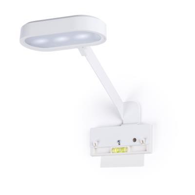 Kit lampe connectée blanc 150 lumens Reverse Magnet + fixation collable