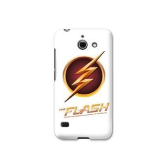 Coque Huawei Ascend Y550 WB License The Flash - log blanc - Etui