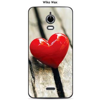 Coque Wiko Wax Design Cœur Sur Table Etui Pour Telephone Mobile Achat Prix Fnac