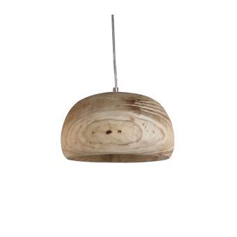 suspension en forme de coupole en bois style scandinave plafonnier de forme sphrique en bois naturel luminaire suspendu en bois 25 cm - Luminaire Style Scandinave