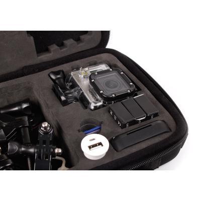 Étui pour caméscope GoPro tous modèles 1, 2, 3, Hero, Outdoor + chargeur voiture