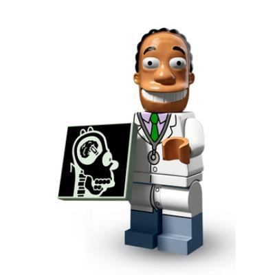 Figurine Lego® Simpsons : Dr Hibbert