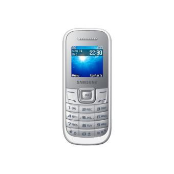 Téléphone GSM SAMSUNG E1200 BLANC