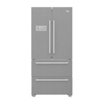 r frig rateur multi portes beko gne60522x achat prix fnac. Black Bedroom Furniture Sets. Home Design Ideas