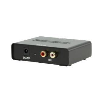 k nig kn optrca10 convertisseur audio num rique vers analogique accessoire tv vid o achat. Black Bedroom Furniture Sets. Home Design Ideas