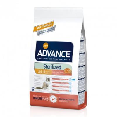 Advance chat sterilized saumon - 3 kg