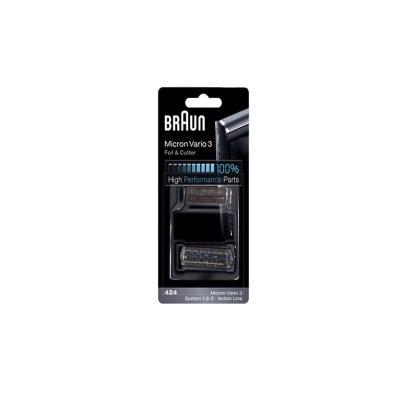 Braun Combi Pack, 424, Noir Ref: 81416568