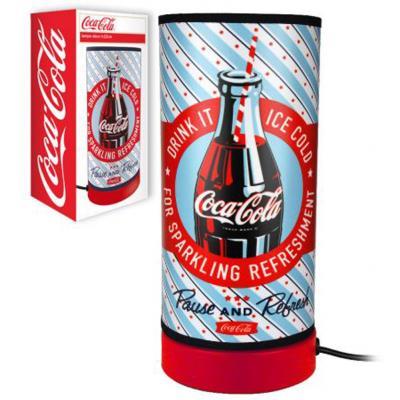 Petite lampe Coca-cola bleu
