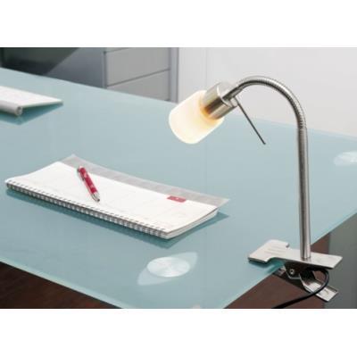 Lampe à pince avec col de cygne pour ampoules G9
