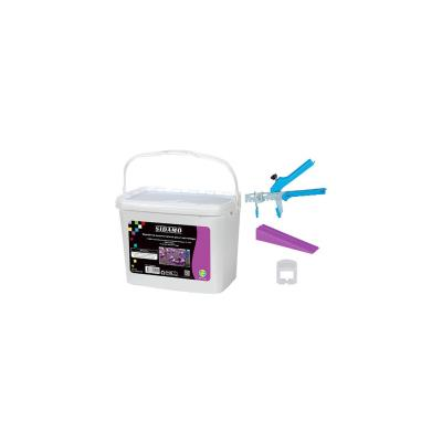 Kit pince + 100 cales + 100 croisillons 1mm
