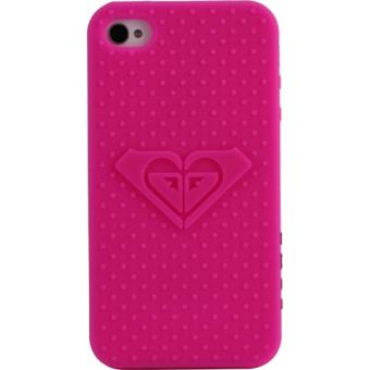 APPLE iPhone 4 Coque semi rigide silicone rose roxy d origine quiksilver iphone 4 4s