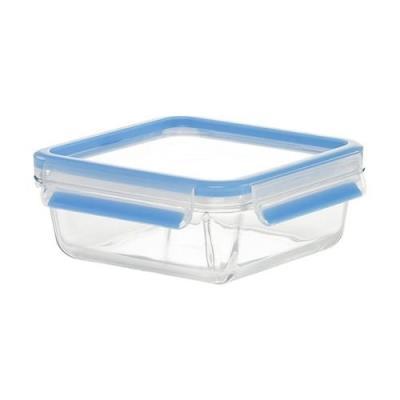 Emsa 513919 clip&close verre boîte alimentaire rectangulaire transparent 0,95 l