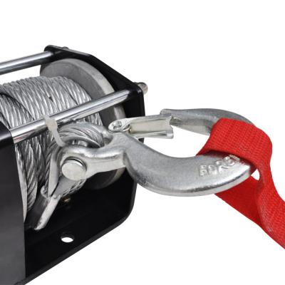 vidaXL 12 V Treuil /électrique 1360 KG avec fil et plaque de montage usage g/én/éral