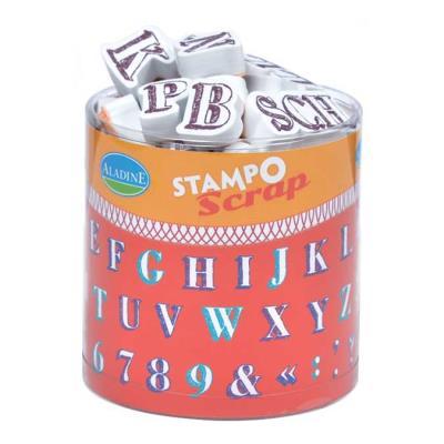 Stampo Scrap - Alphabet crayonné