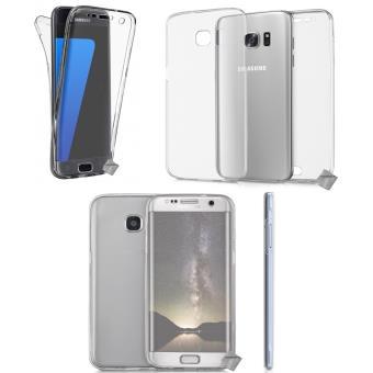 c3e880a6106a7c Housse etui coque gel 360 integrale Samsung G935 Galaxy S7 Edge -  TRANSPARENT - Etui pour téléphone mobile - Achat   prix   fnac