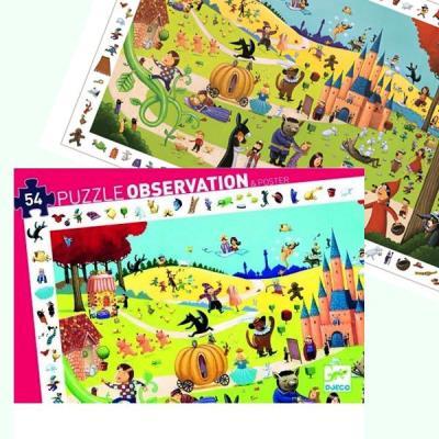 Puzzle Djeco Observation Les Contes 54 pcs Enfants 4 ans +