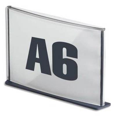 Plaque de porte format A6 coloris anthracite