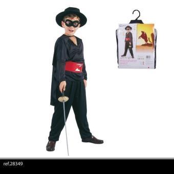 deguisement costume garcon enfant de 7 a 10 ans zorro le. Black Bedroom Furniture Sets. Home Design Ideas