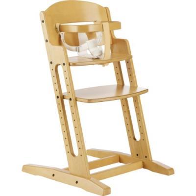 Babydan chaise haute - bois naturel