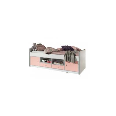 Vipack Lit Capitaine Bonny 90x200 Rose Clair
