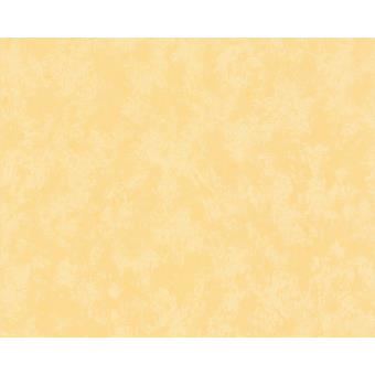 Papier Peint Exp Uni Djerba Jaune Orange Lot De 12 Decoration Des