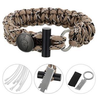 pas mal site web pour réduction achat spécial Bracelet de survie en Paracorde Kaki